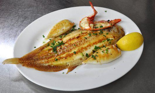 Fischteller alá Chef